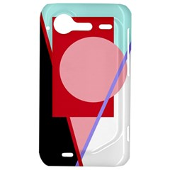 Decorative geomeric abstraction HTC Incredible S Hardshell Case