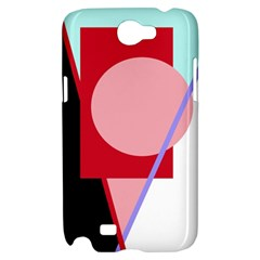 Decorative geomeric abstraction Samsung Galaxy Note 2 Hardshell Case