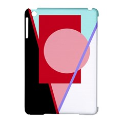 Decorative geomeric abstraction Apple iPad Mini Hardshell Case (Compatible with Smart Cover)