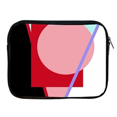 Decorative geomeric abstraction Apple iPad 2/3/4 Zipper Cases