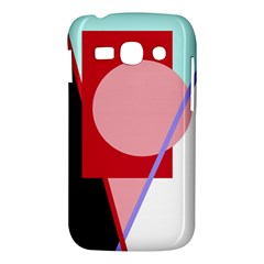 Decorative geomeric abstraction Samsung Galaxy Ace 3 S7272 Hardshell Case