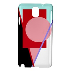 Decorative geomeric abstraction Samsung Galaxy Note 3 N9005 Hardshell Case