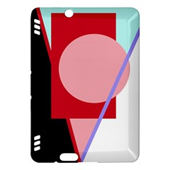 Decorative geomeric abstraction Kindle Fire HDX Hardshell Case