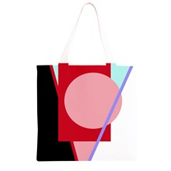 Decorative geomeric abstraction Grocery Light Tote Bag