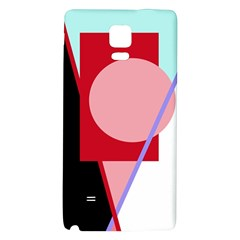 Decorative geomeric abstraction Galaxy Note 4 Back Case