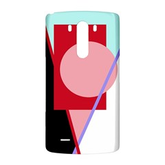 Decorative geomeric abstraction LG G3 Back Case