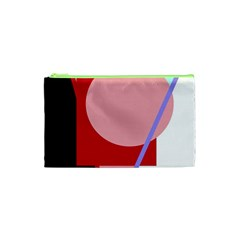 Decorative geomeric abstraction Cosmetic Bag (XS)