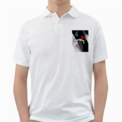 Decorative abstraction Golf Shirts
