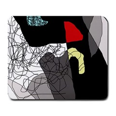 Decorative abstraction Large Mousepads