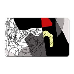 Decorative abstraction Magnet (Rectangular)