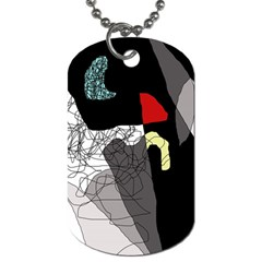 Decorative abstraction Dog Tag (Two Sides)