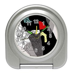 Decorative abstraction Travel Alarm Clocks
