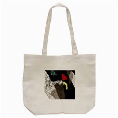 Decorative abstraction Tote Bag (Cream)