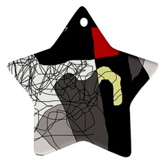 Decorative abstraction Star Ornament (Two Sides)