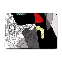 Decorative abstraction Small Doormat