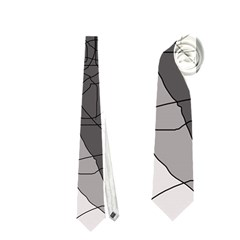 Decorative abstraction Neckties (Two Side)