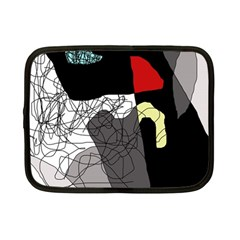 Decorative abstraction Netbook Case (Small)