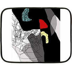 Decorative abstraction Double Sided Fleece Blanket (Mini)