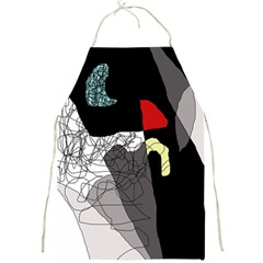 Decorative abstraction Full Print Aprons