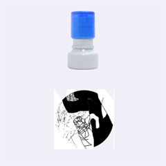 Decorative abstraction Rubber Round Stamps (Small)
