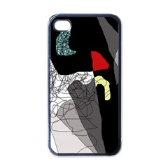 Decorative abstraction Apple iPhone 4 Case (Black)