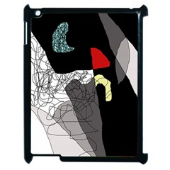 Decorative abstraction Apple iPad 2 Case (Black)