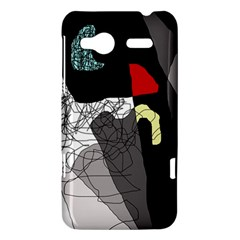 Decorative abstraction HTC Radar Hardshell Case