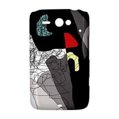 Decorative abstraction HTC ChaCha / HTC Status Hardshell Case