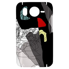 Decorative abstraction HTC Desire HD Hardshell Case