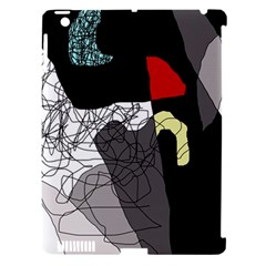 Decorative abstraction Apple iPad 3/4 Hardshell Case (Compatible with Smart Cover)