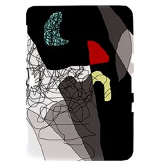 Decorative abstraction Samsung Galaxy Tab 8.9  P7300 Hardshell Case
