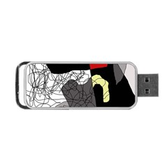 Decorative abstraction Portable USB Flash (Two Sides)