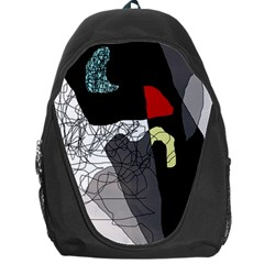 Decorative abstraction Backpack Bag