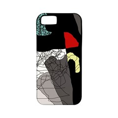 Decorative abstraction Apple iPhone 5 Classic Hardshell Case (PC+Silicone)