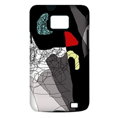 Decorative abstraction Samsung Galaxy S II i9100 Hardshell Case (PC+Silicone)