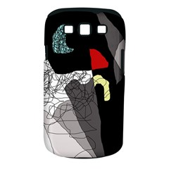 Decorative abstraction Samsung Galaxy S III Classic Hardshell Case (PC+Silicone)
