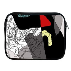 Decorative abstraction Apple iPad 2/3/4 Zipper Cases