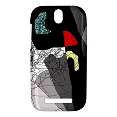 Decorative abstraction HTC One SV Hardshell Case