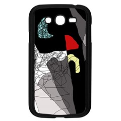 Decorative abstraction Samsung Galaxy Grand DUOS I9082 Case (Black)