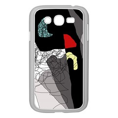 Decorative abstraction Samsung Galaxy Grand DUOS I9082 Case (White)