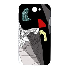 Decorative abstraction Samsung Note 2 N7100 Hardshell Back Case