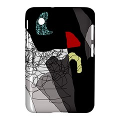 Decorative abstraction Samsung Galaxy Tab 2 (7 ) P3100 Hardshell Case