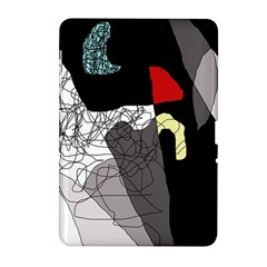 Decorative abstraction Samsung Galaxy Tab 2 (10.1 ) P5100 Hardshell Case