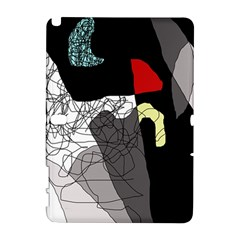 Decorative abstraction Samsung Galaxy Note 10.1 (P600) Hardshell Case