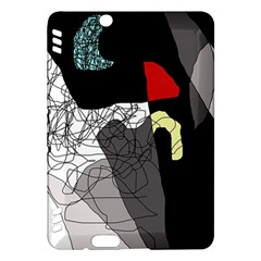 Decorative abstraction Kindle Fire HDX Hardshell Case