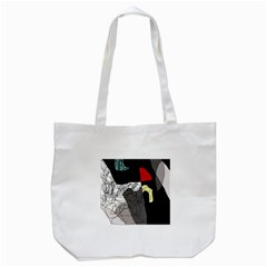Decorative abstraction Tote Bag (White)