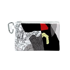 Decorative abstraction Canvas Cosmetic Bag (S)