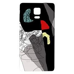 Decorative abstraction Galaxy Note 4 Back Case