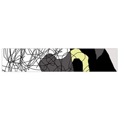 Decorative abstraction Flano Scarf (Small)