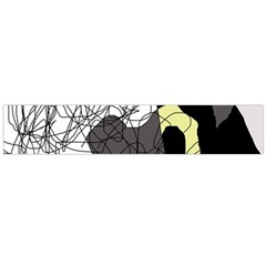 Decorative abstraction Flano Scarf (Large)